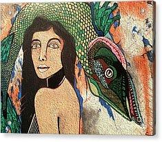 Queen Fish Head Acrylic Print