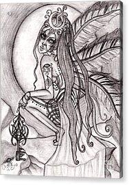 Queen I' Eloraii Acrylic Print by Coriander  Shea