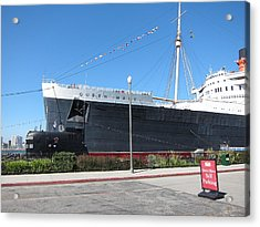 Queen Mary - 12122 Acrylic Print by DC Photographer