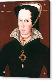 Queen Mary I Of England Acrylic Print by Granger