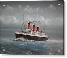 Queen Mary Acrylic Print by James McGuinness