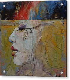 Queen Acrylic Print by Michael Creese