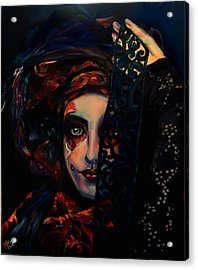 Queen Of Darkness Acrylic Print