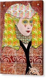 Queen Of Diamonds Acrylic Print