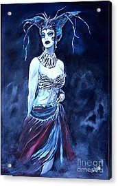Queen Of The Dead Acrylic Print by Valarie Pacheco