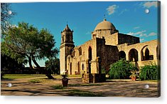 Queen Of The Missions Acrylic Print by Gregory Israelson
