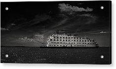 Queen Of The Mississippi  Acrylic Print by Mario Celzner