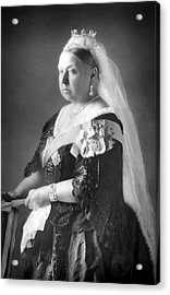 Queen Victoria Acrylic Print by Unknown