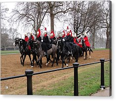 Acrylic Print featuring the photograph Queen's Guard by Tiffany Erdman