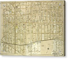 Queens, Vol. 1, Double Page Plate No. 3 Part Of Ward Four Acrylic Print