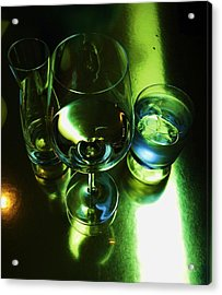 Quench Acrylic Print by Anna Villarreal Garbis