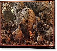 Acrylic Print featuring the digital art Quetzalcoatl by Melissa Messick