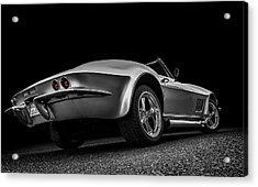 Quick Silver Acrylic Print by Douglas Pittman