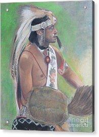 Wampanoag Dancer Acrylic Print