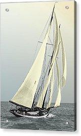 Quickstep - Schooner Yacht Acrylic Print