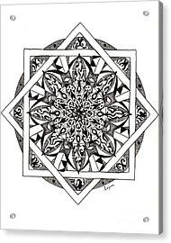 Quiddity Mandala Acrylic Print