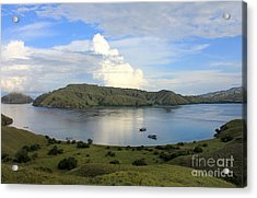 Acrylic Print featuring the photograph Quiet Bay by Sergey Lukashin