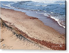 Quiet Beach Acrylic Print