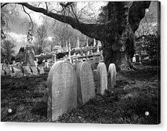 Quiet Cemetery Acrylic Print by Jennifer Ancker