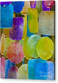 Acrylic Print featuring the photograph Quiet Chime by Alice Mainville