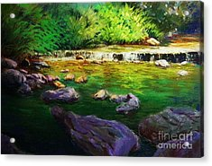 Quiet Creek Acrylic Print