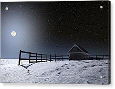 Acrylic Print featuring the photograph Quiet Evening by Larry Landolfi