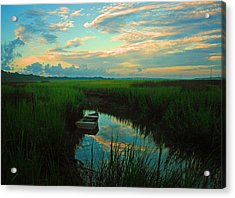 Quiet Gateway Acrylic Print by Tony DelSignore
