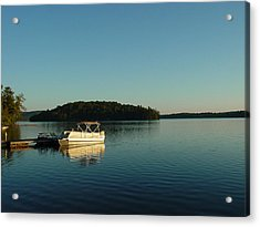 Acrylic Print featuring the photograph Quiet Lake by Dorothy Maier