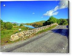 Quiet Man Bridge Acrylic Print by John Quinn