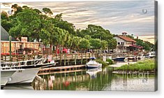 Quiet Morning At The Inlet II Acrylic Print