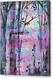 Quiet Place Acrylic Print by Rachel Christine Nowicki