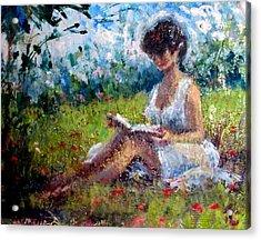 Quiet Read Acrylic Print