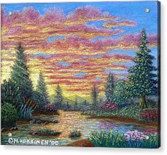Quiet River Acrylic Print