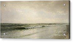 Quiet Seascape Acrylic Print by William Trost Richards