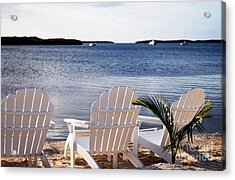 Quiet Time Acrylic Print by Judy Wolinsky
