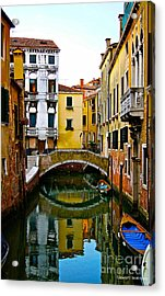 Quiet Venice Morning Acrylic Print by Scott Kraus