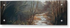 Acrylic Print featuring the painting Quietude by Grace Keown