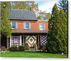 Quilt Maker's House Acrylic Print by Jean Hall