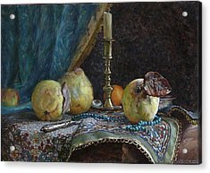 Quince Acrylic Print by Korobkin Anatoly