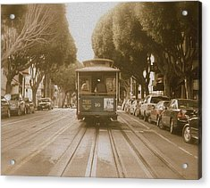 Quintessential San Francisco Acrylic Print by Kandy Hurley