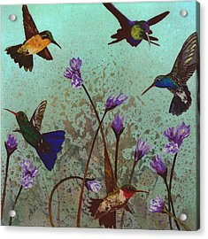 Quintet Acrylic Print by Fred Chuang