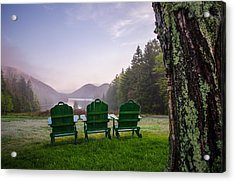 Quite A View Acrylic Print by Kristopher Schoenleber