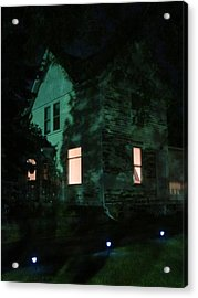 Quite The Weathered House Acrylic Print by Guy Ricketts