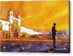 Quito Sunrise Acrylic Print
