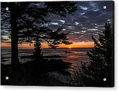 Quoddy Sunrise Acrylic Print