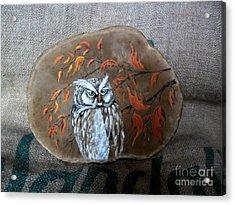 Qwl Acrylic Print by Ildiko Decsei