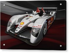 R10 Le Mans 2 Acrylic Print by Peter Chilelli