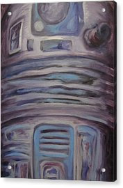 R2 Abstract Acrylic Print by Howard Perry