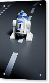 R2-d2 Acrylic Print by Samuel Whitton