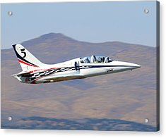 R2d2 Flies At The Reno Air Races Acrylic Print